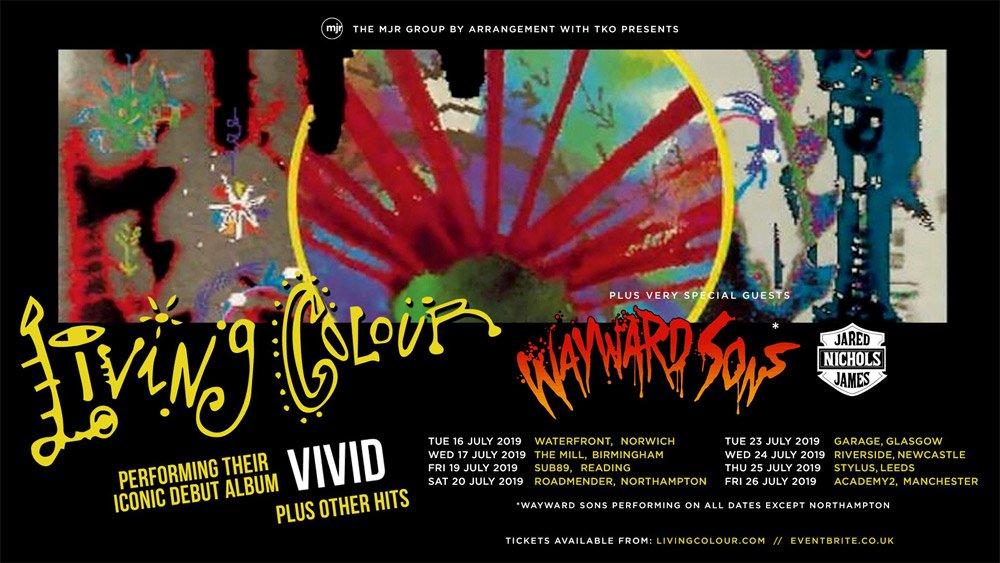 Living Colour UK Tour Dates 2019