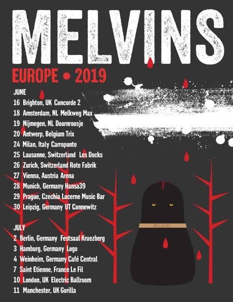 European Tour Dates 2019:  16 June, 2019 - Brighton, UK - Concorde 2 18 June, 2019 - Amsterdam, The Netherlands - Melkweg Max 19 June, 2019 - Nijmegen, The Netherlands - Doornroosje 20 June, 2019 - Antwerp, Belgium - Trix 24 June, 2019 - Milan, Italy - Carroponte 25 June, 2019 - Lausanne, Switzerland - Les Docks 26 June, 2019 - Zurich, Switzerland - Rote Fabrik 27 June, 2019 - Vienna, Austria - Arena 28 June, 2019 - Munich, Germany - Hansa30 29 June, 2019 - Prague, Czechia - Lucerna Music Bar 30 June, 2019 - Leipzig, Germany - UT Connewitz 2 July, 2019 - Berlin, Germany - Festaal Kreuzberg 3 July, 2019 - Hamburg, Germany - LOGO 4 July, 2019 - Weinheim, Germany - Cafe Central 7 July, 2019 - Saint Etienne, France - Le Fil 10 July, 2019 - London, UK - Camden Electric Ballroom 11 July, 2019 - Manchester, UK - Gorilla