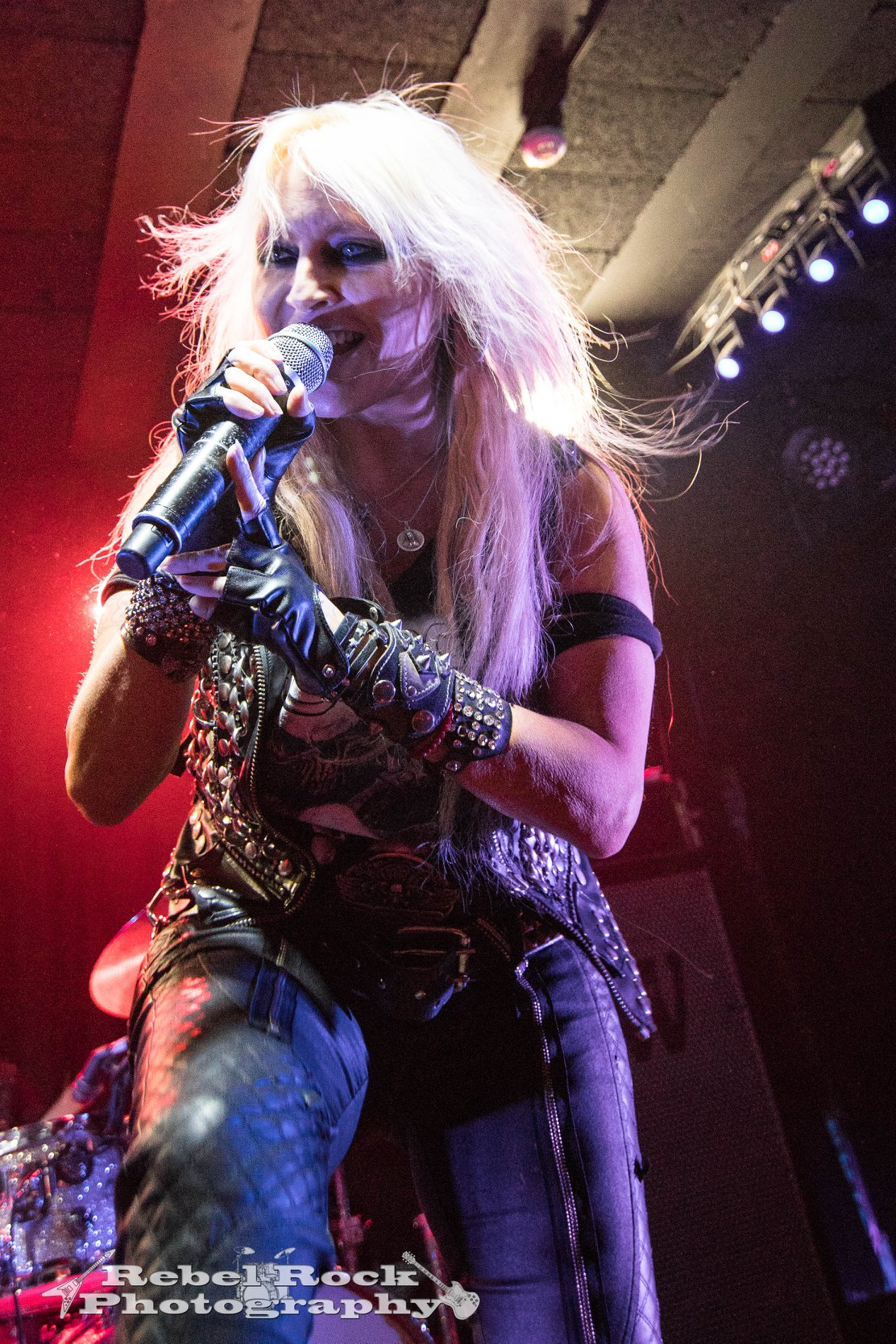 Doro at Rebellion in Manchester on March 12th 2019 ©Rock Rebel Photography