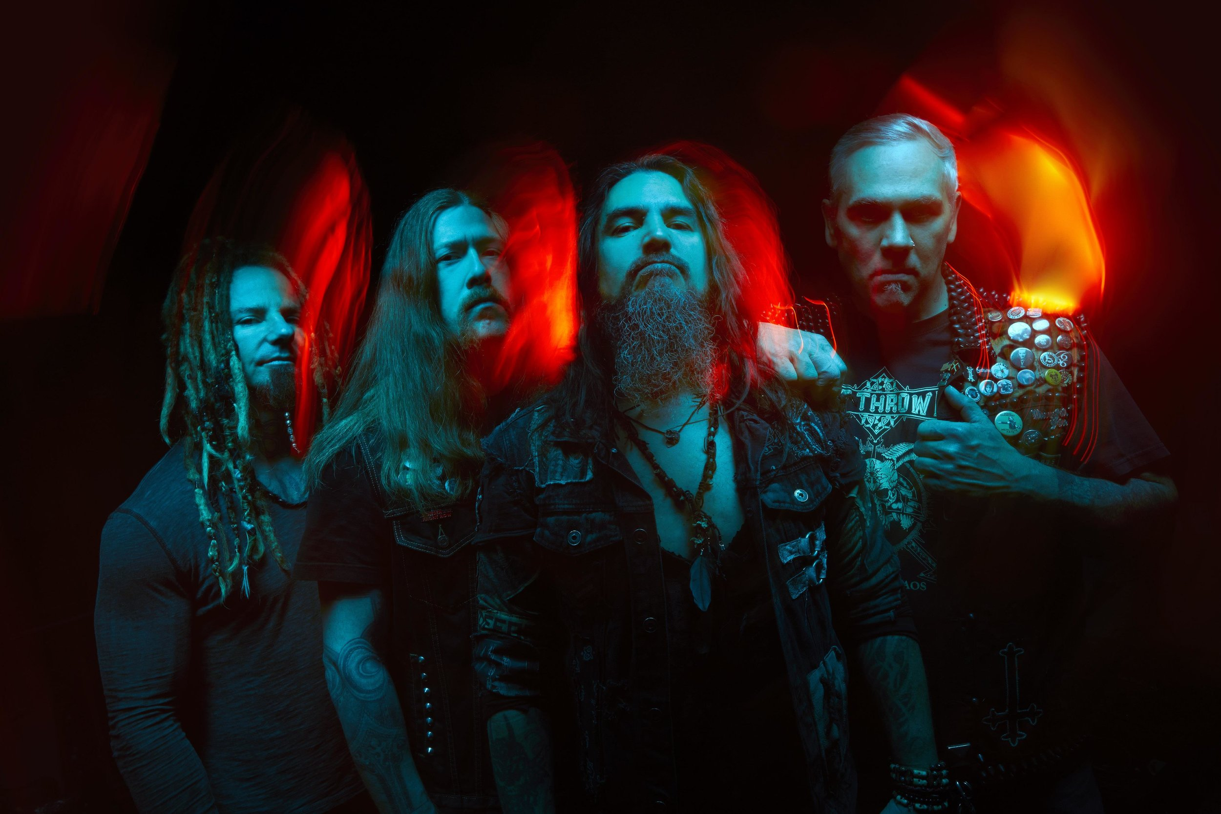 Machine Head Band Photo shoot Promo 2019