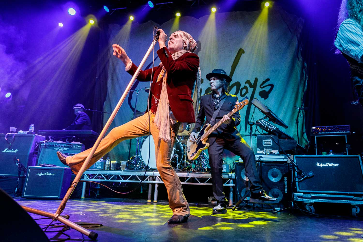 The Quireboys at O2 Ritz in Manchester on April 7th 2019.