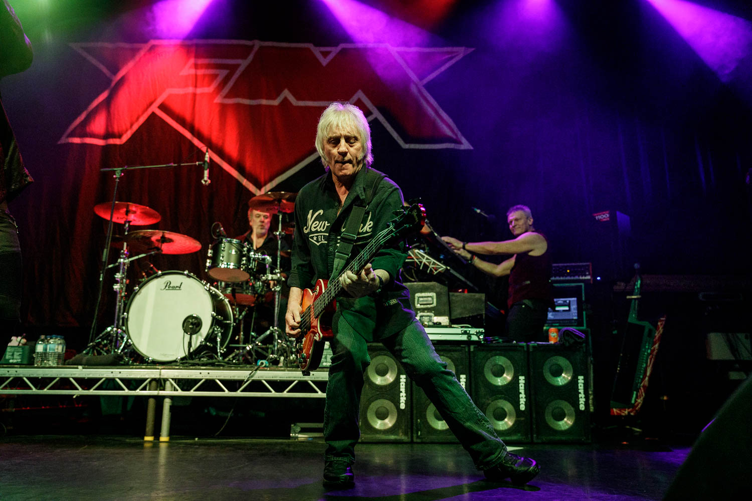 FM at O2 Ritz in Manchester on April 7th 2019.