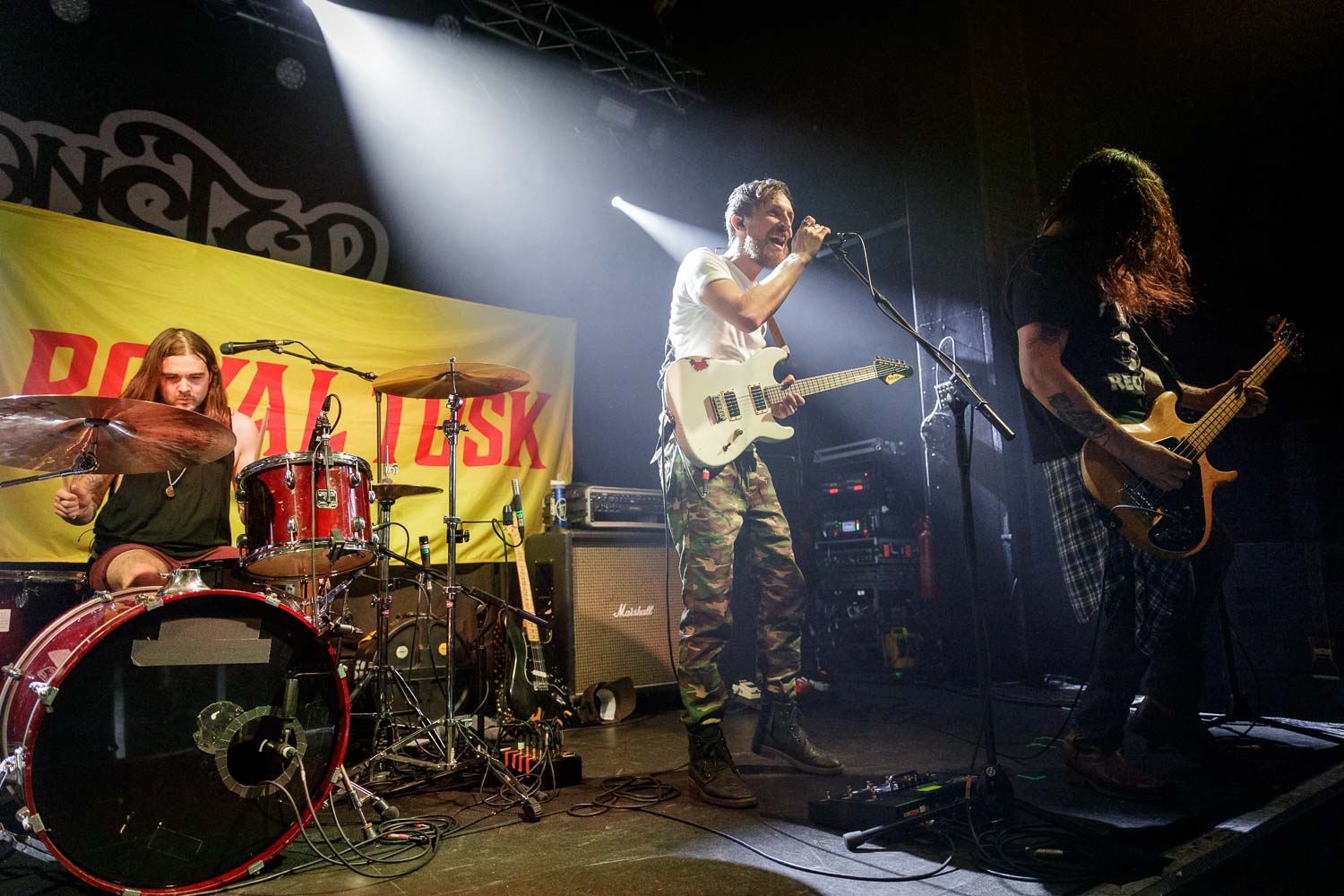 Royal Tusk at The Academy 2 in Manchester on April 20th 2019.