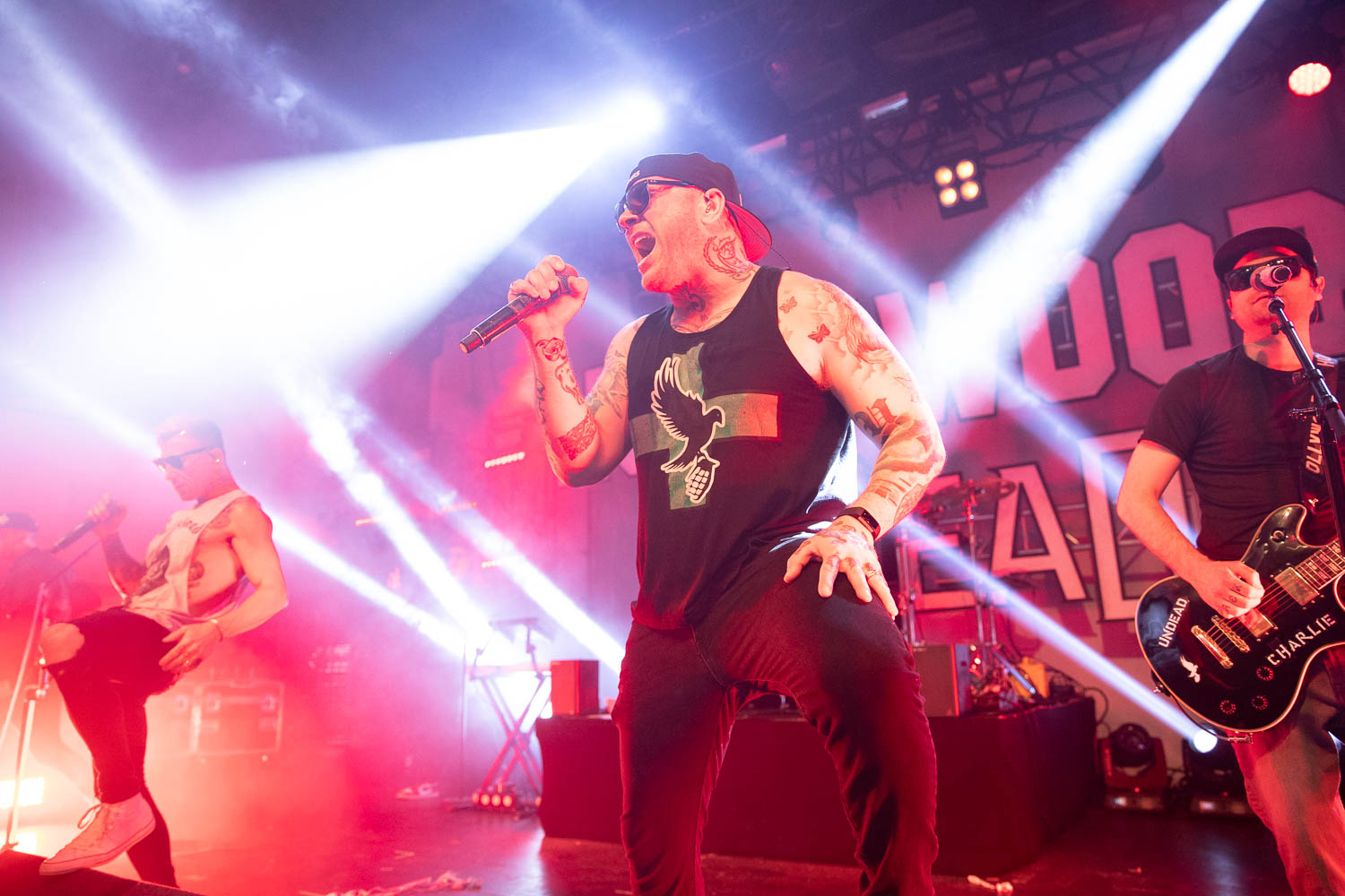Hollywood Undead at Mountford Hall in Liverpool on April 27th 2019