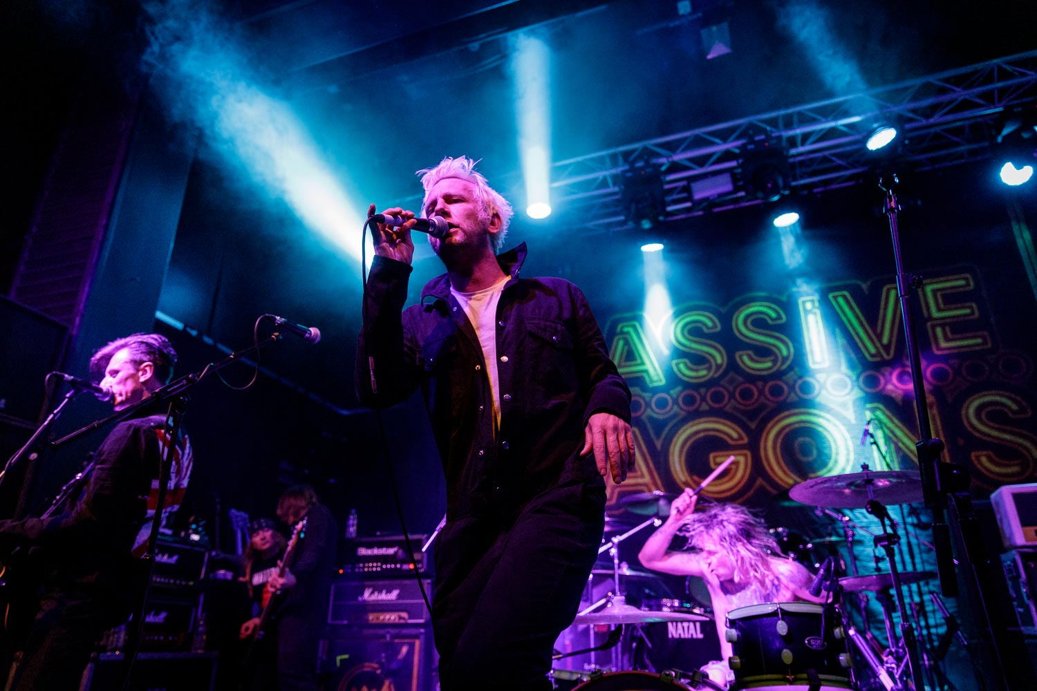 Towers Of London at Academy 2 in Manchester on May 3rd 2019. ©Johann Wierzbicki | ROCKFLESH