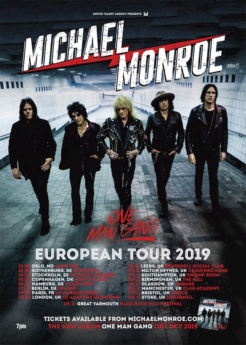 Michael Monroe Tour Dates 2019