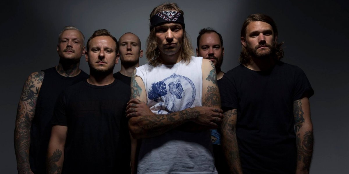 Kvelertak, Zippo Stage on Friday at Download 2019