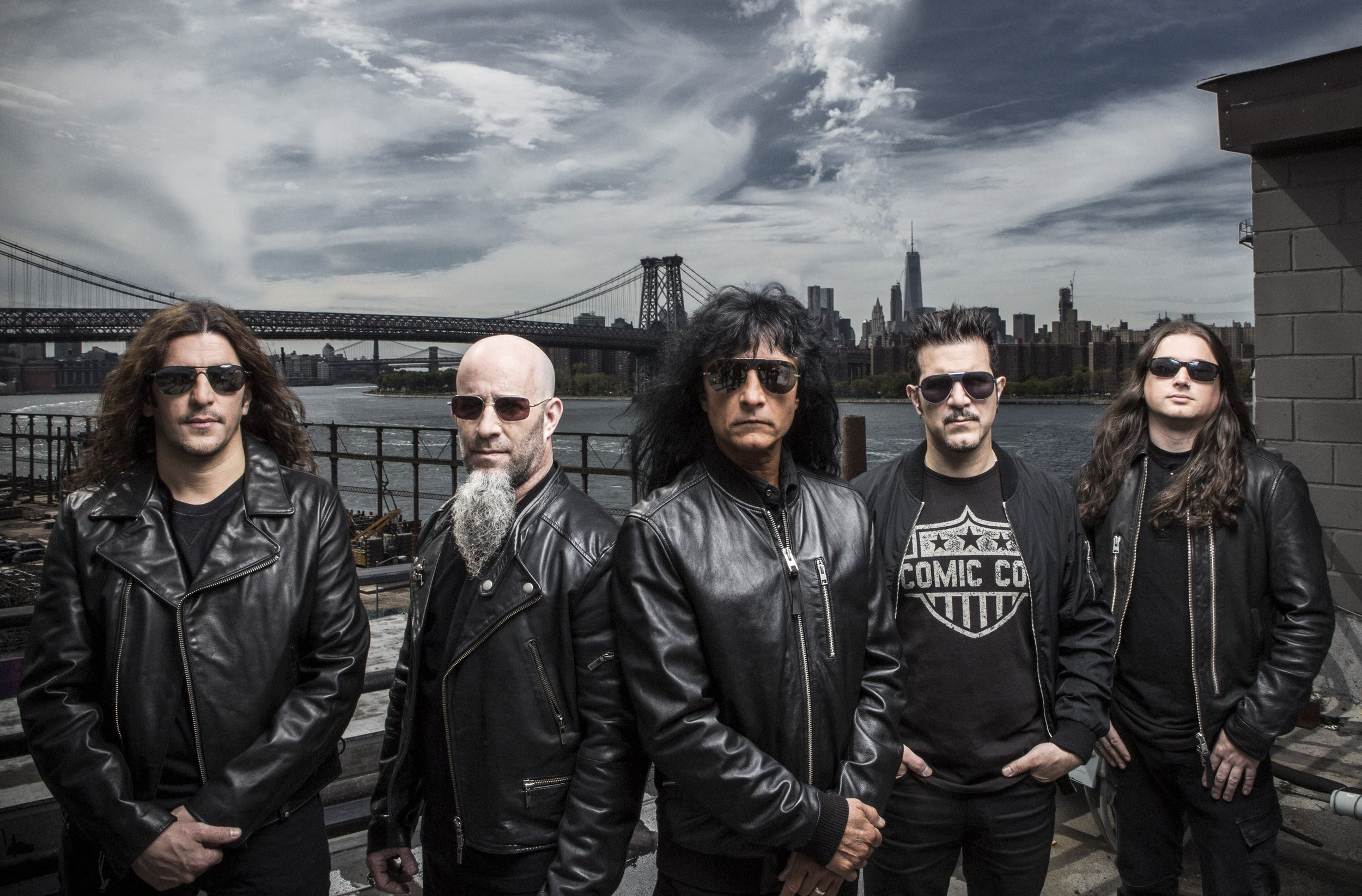 Anthrax, Zippo Stage on Sunday at Download 2019