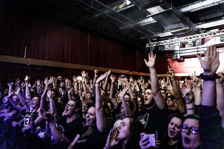 Bad Wolves at Academy 2 in Manchester on June 13th 2019. ©Johann Wierzbicki   ROCKFLESH