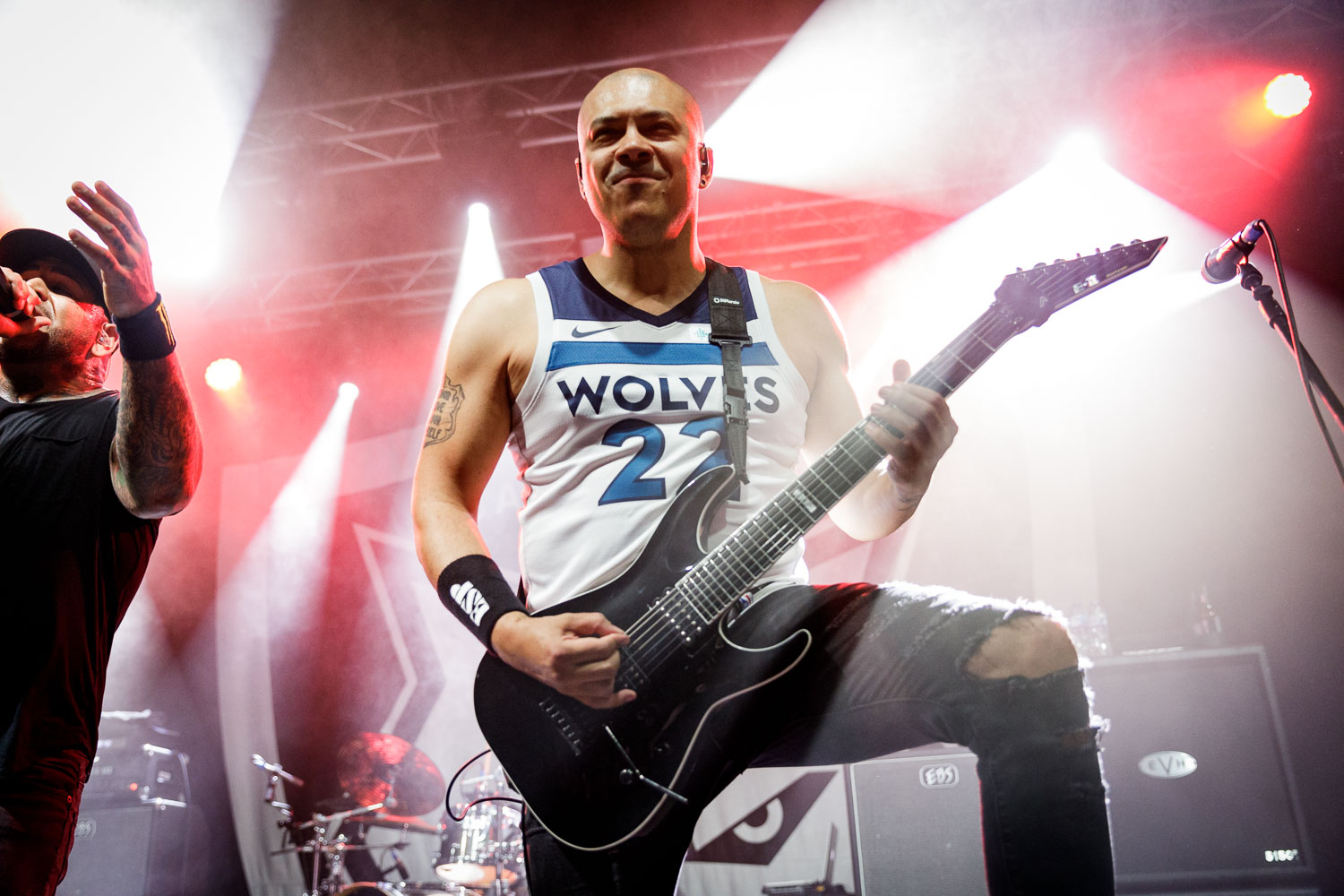 Bad Wolves at Academy 2 in Manchester on June 13th 2019. ©Johann Wierzbicki | ROCKFLESH