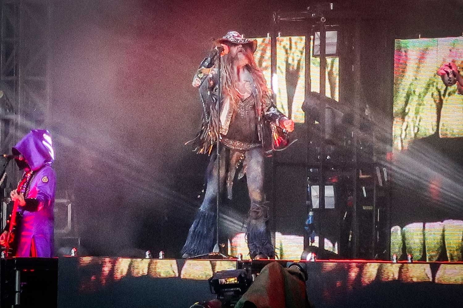 Rob Zombie on the Zippo Encore stage Download 2019