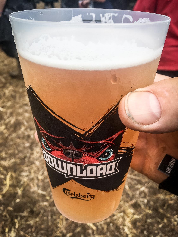 Beer break before Amon Amarth