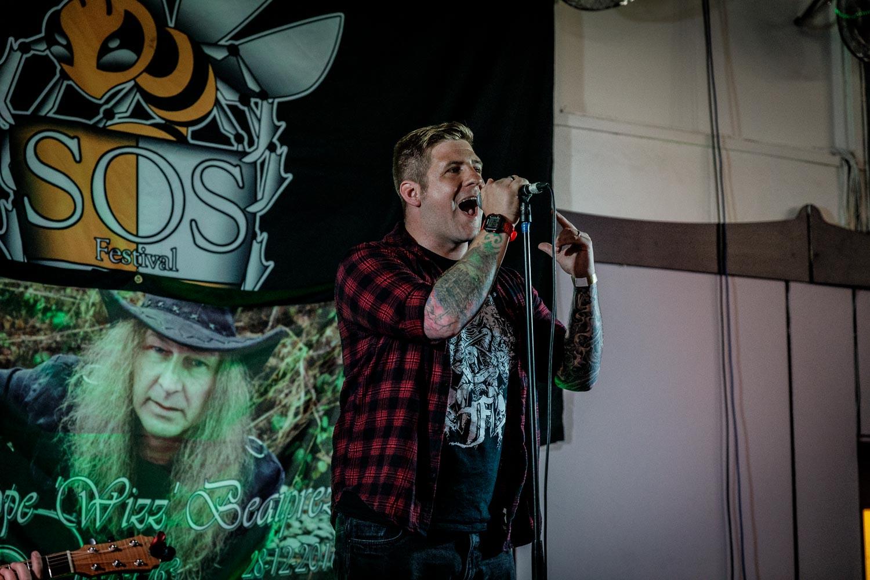 Promethium at SOS Festival in Prestwich on July 14th 2019 ©Johann Wierzbicki | ROCKFLESH