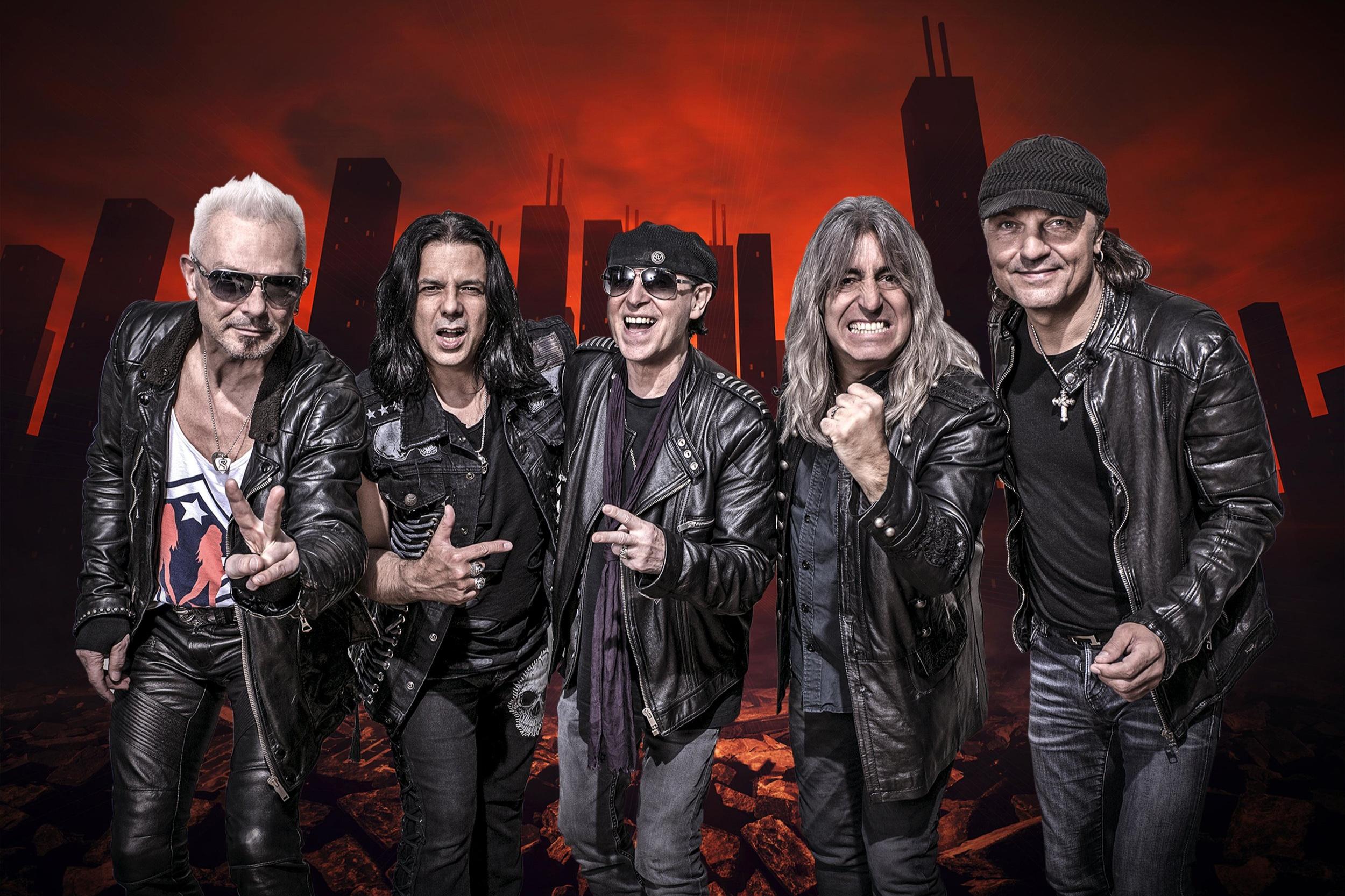 Scorpions at Bloodstock