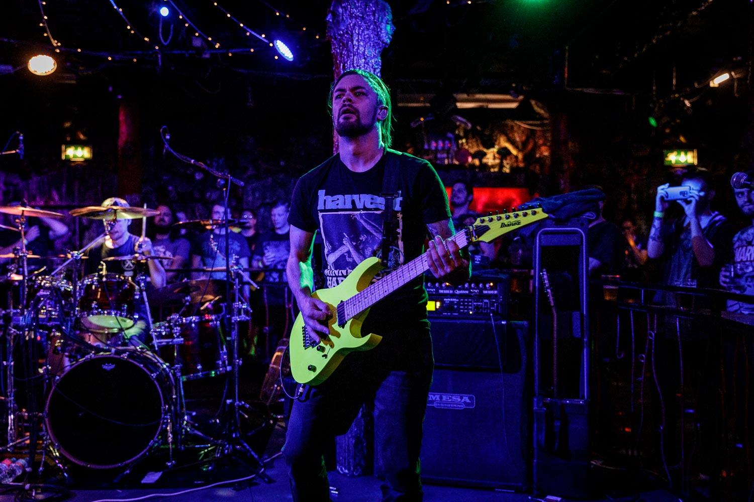 After The Burial at Satan's Hollow in Manchester