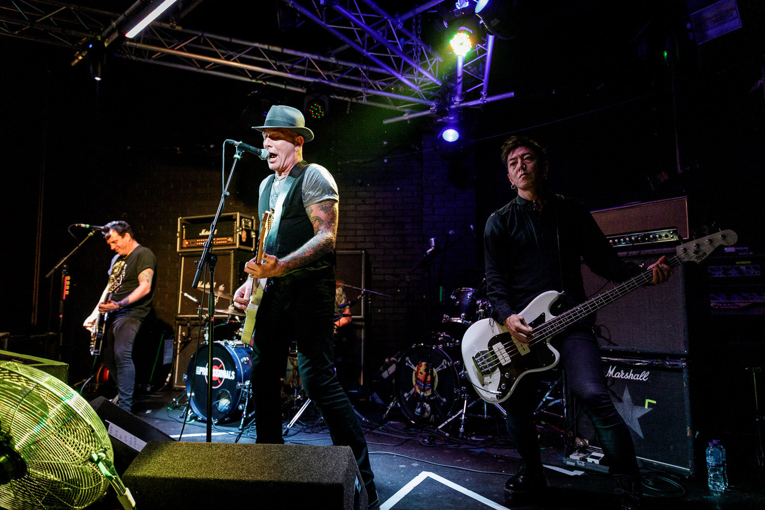 The Professionals at the Live Rooms in Chester on October 7th 2019 ©Johann Wierzbicki   ROCKFLESH
