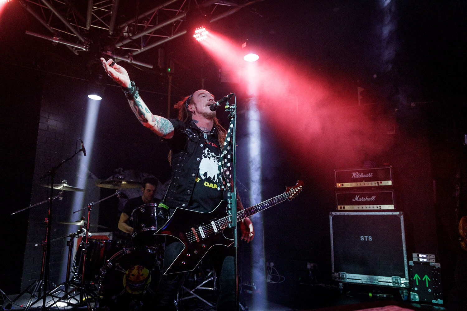 The Wildhearts at the Live Rooms in Chester on October 7th 2019 ©Johann Wierzbicki   ROCKFLESH