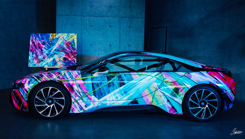 BMW i8 Wrap Design by Mayka ienova
