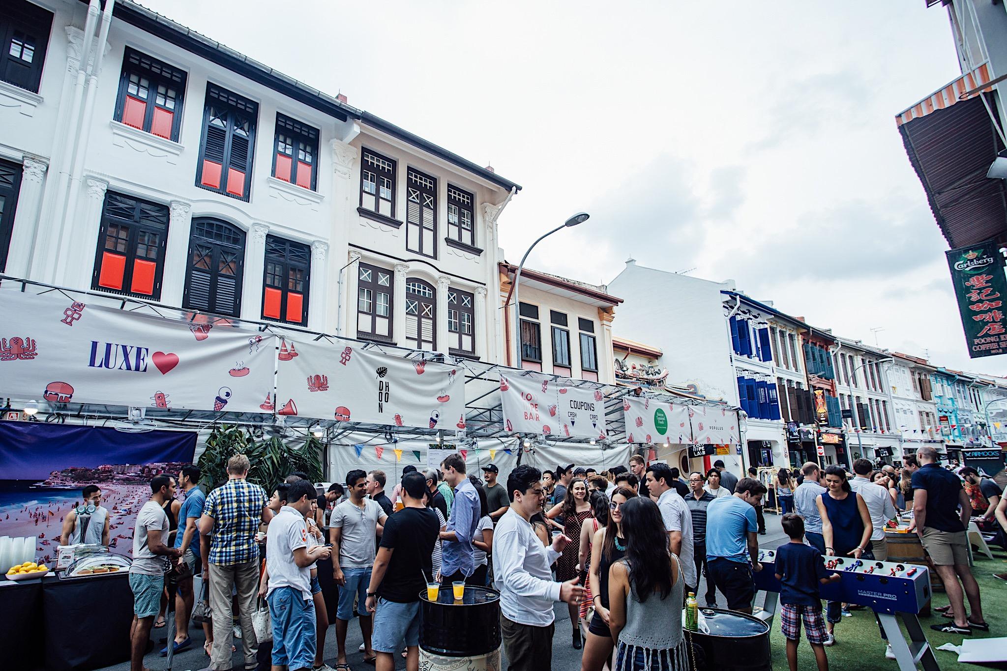 Urban Ventures at Keong Saik (Photo Credits: Colossal Photos)