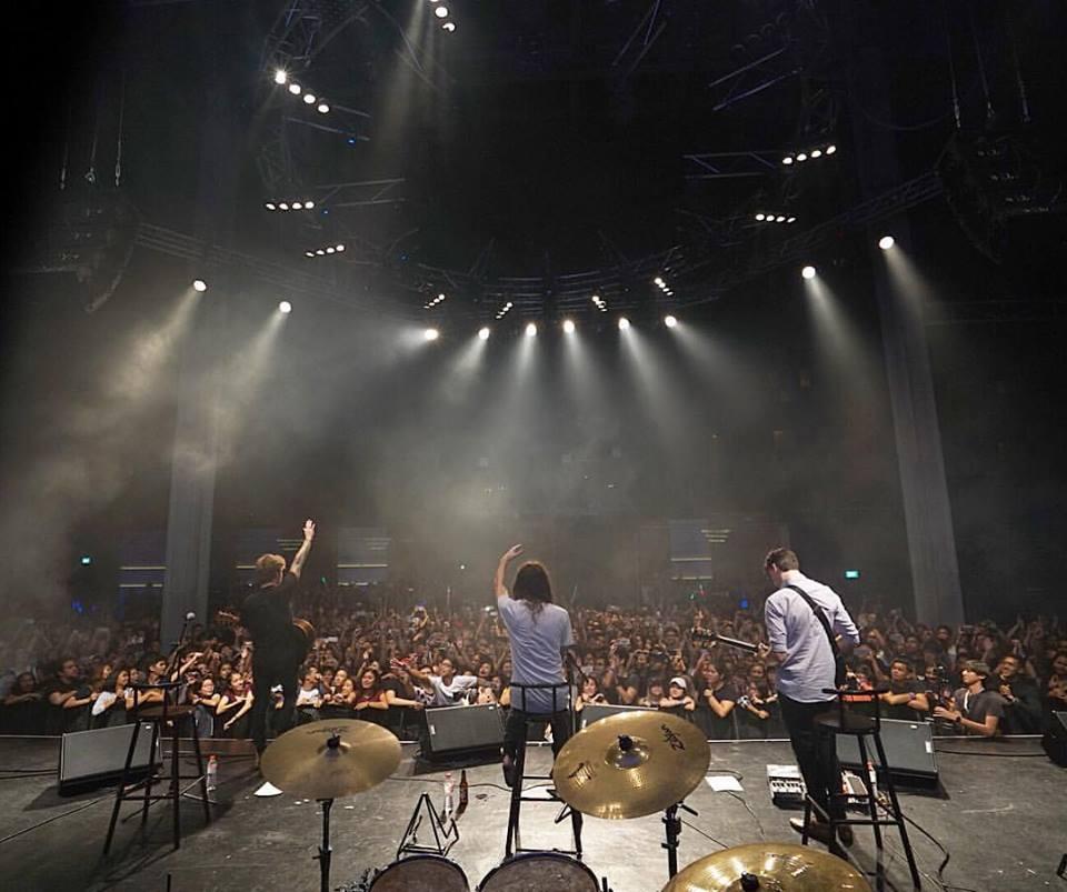 The Main Concert (Photo credits: MayDayParade),