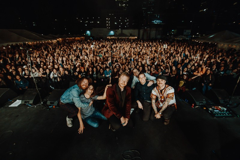 The Maine from 8123 Fest (Photo credits: Lupe Bustos)