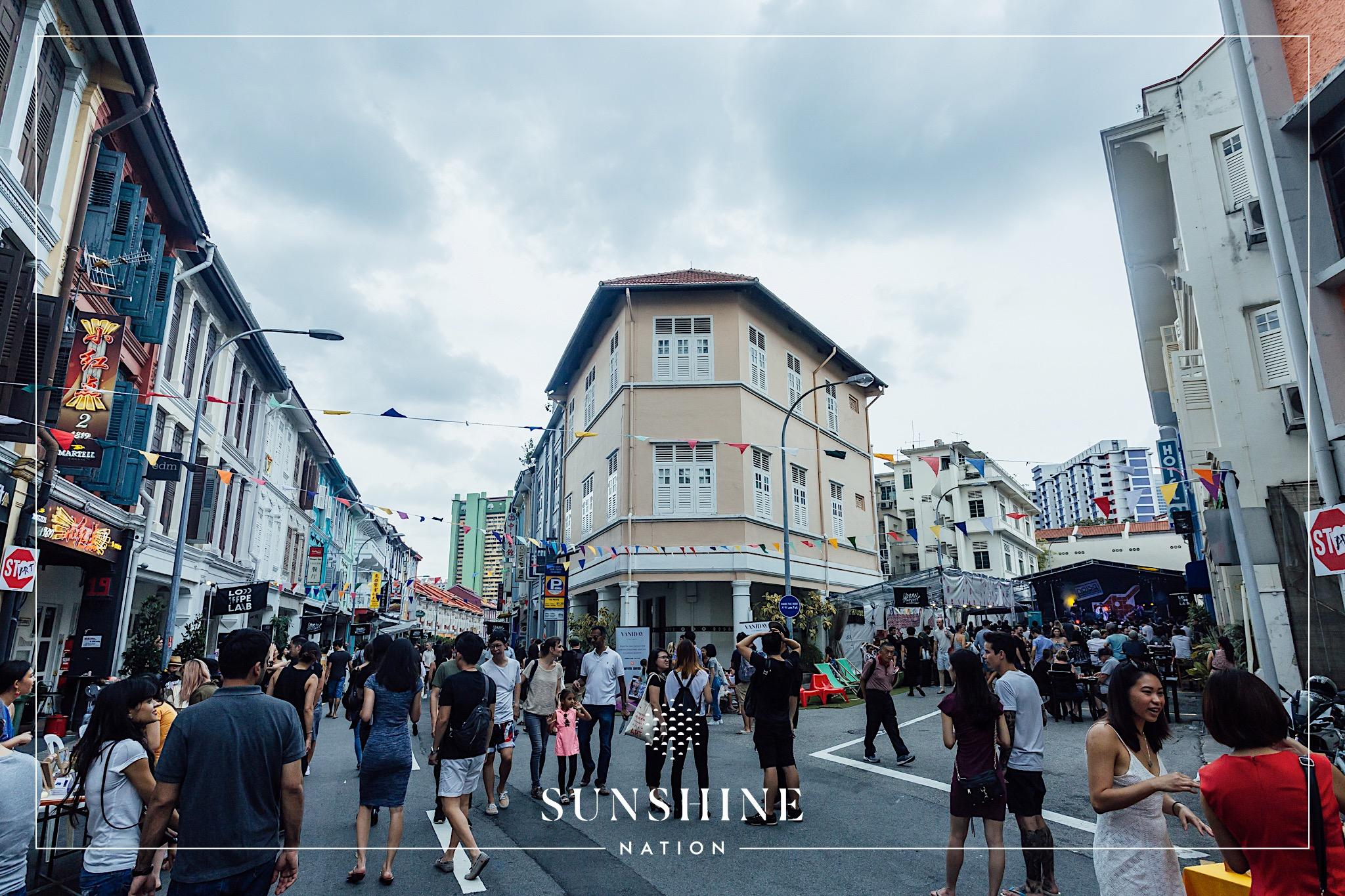 Block Party at Jiak Chuan Road (Photo credits: Colossal Photos)