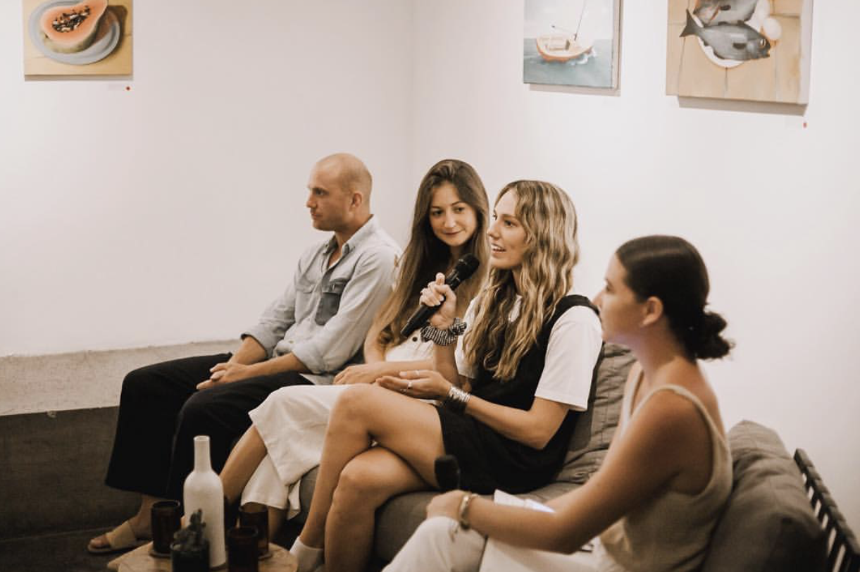 OUR FOUNDER ZEPHA JACKSON CHATTING ALL THINGS ETHICAL WITH PANELISTS KAI PAUL AND KEIRA MASON.
