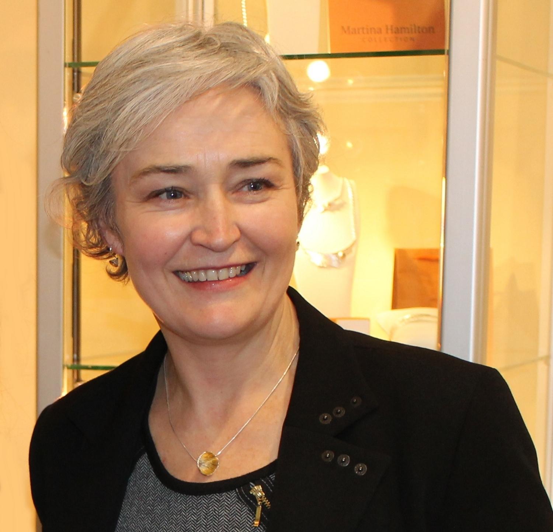 Jewellery designer Martina Hamilton