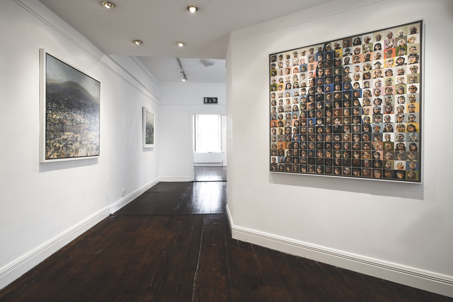 Hamilton Gallery  features year round solo exhibitions by Ireland's leading visual artists. This gallery photo includes work by artist Charles Harper.