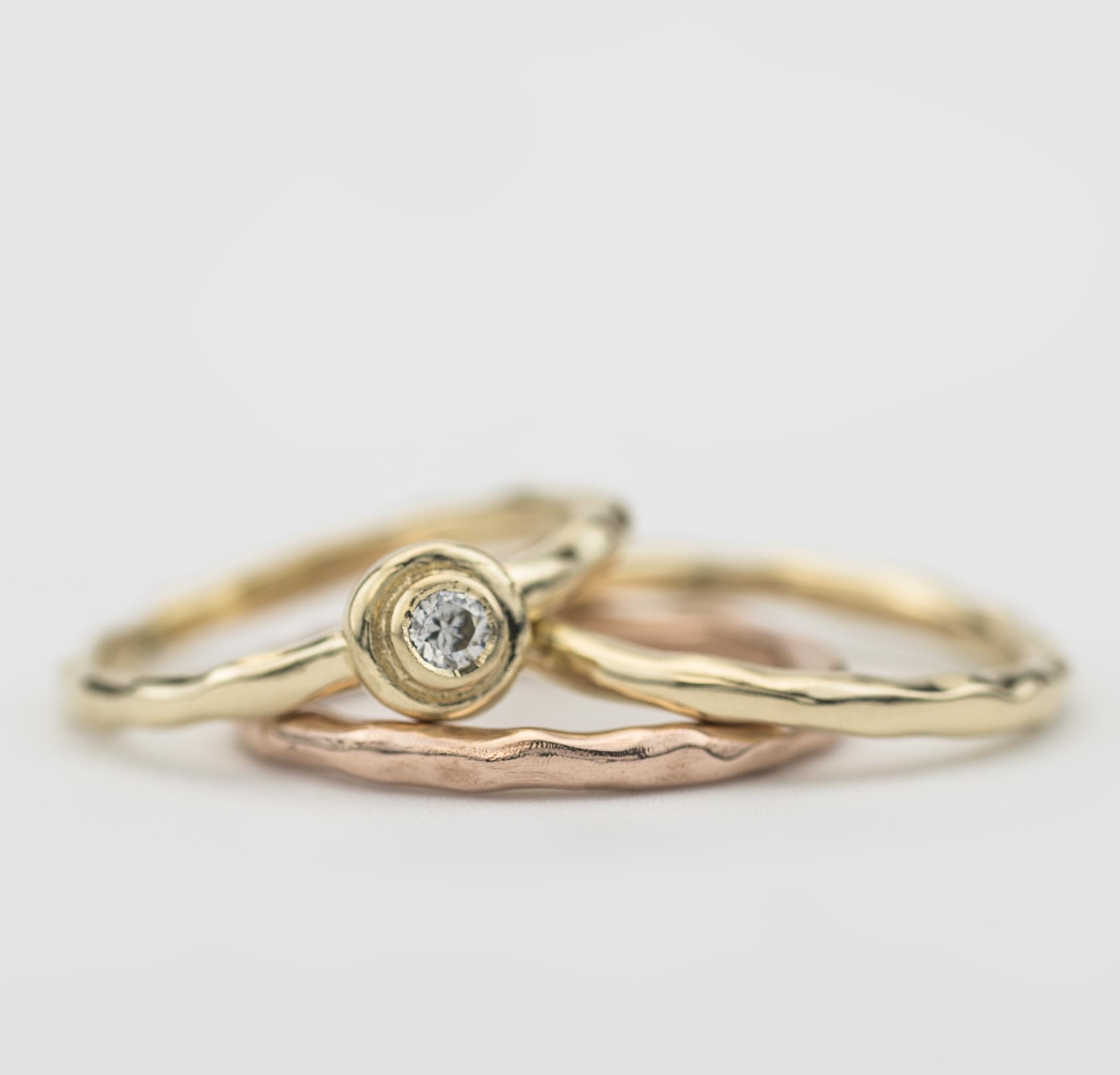 Irish gold rings