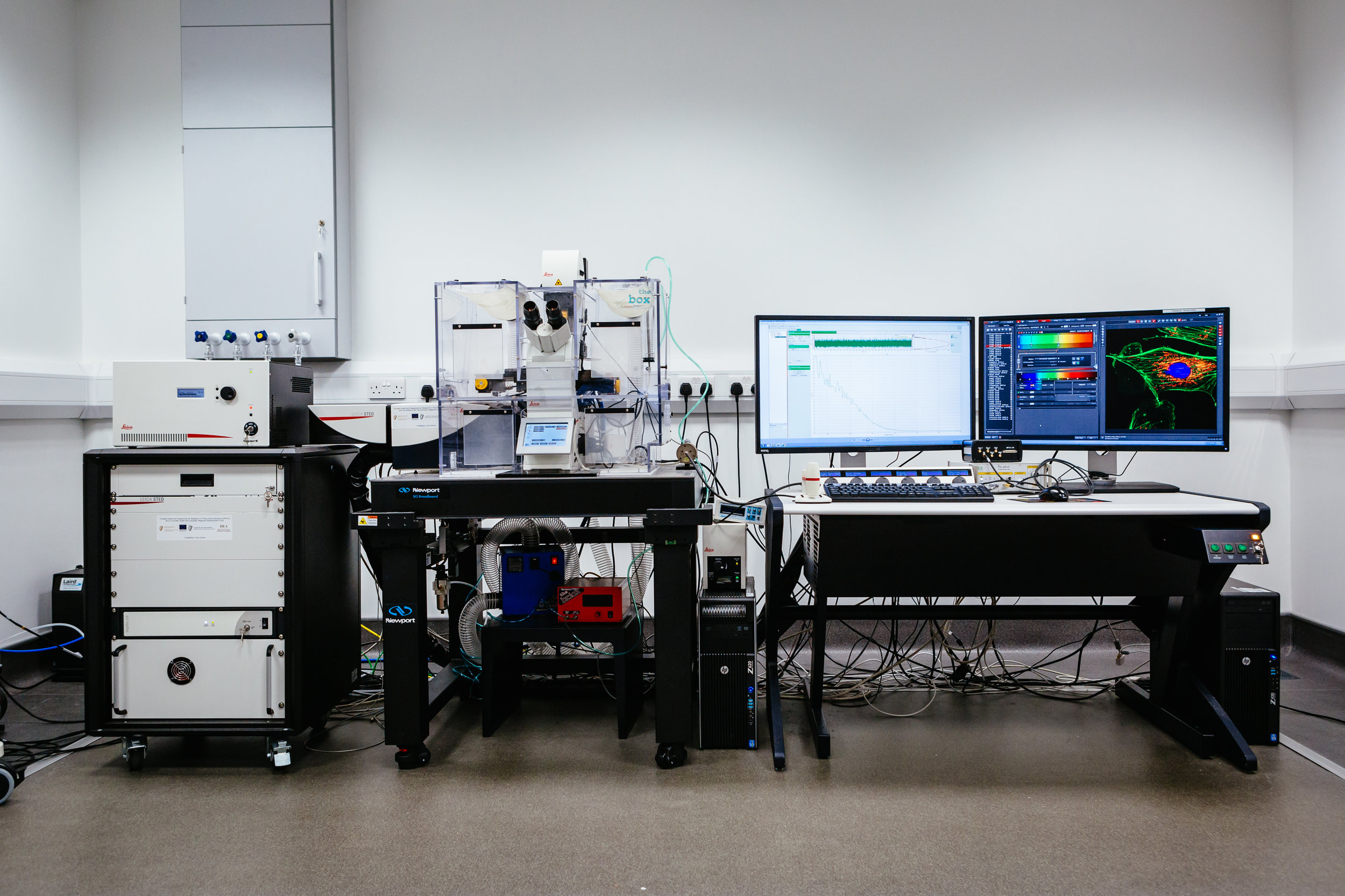 Leica TCS SP8 STED Microscope at the NRF at DCU