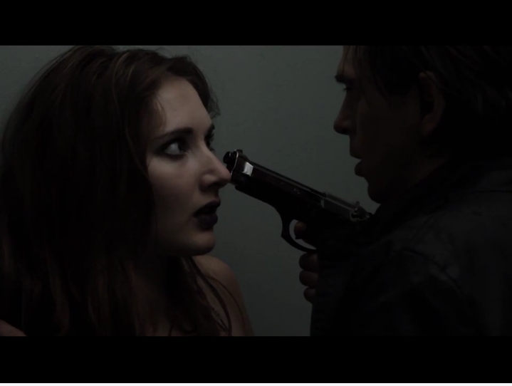 Capture from 'Judas Goat' featuring Guy Evans