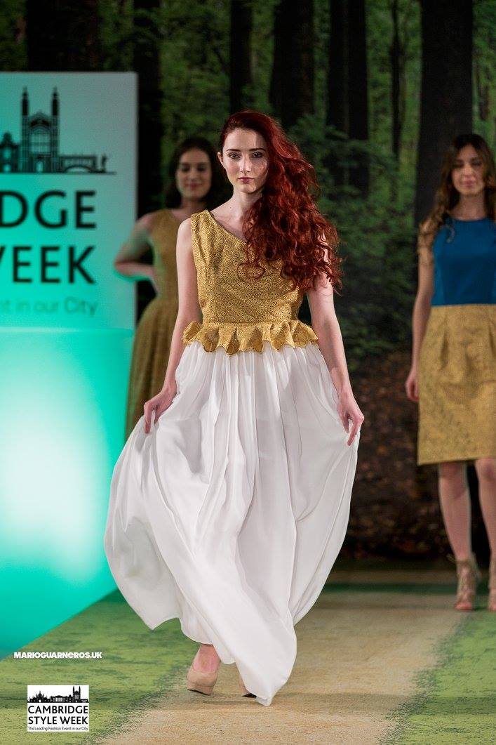 Cambridge Style Week 2016  Designer: Channesse  Make Up: Younique  Hair:  Top to Toe   Photographer:  Mario Guarneros