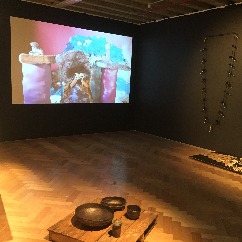 Installation view, Vita Bila, John Brooks, Nicholas Hovington