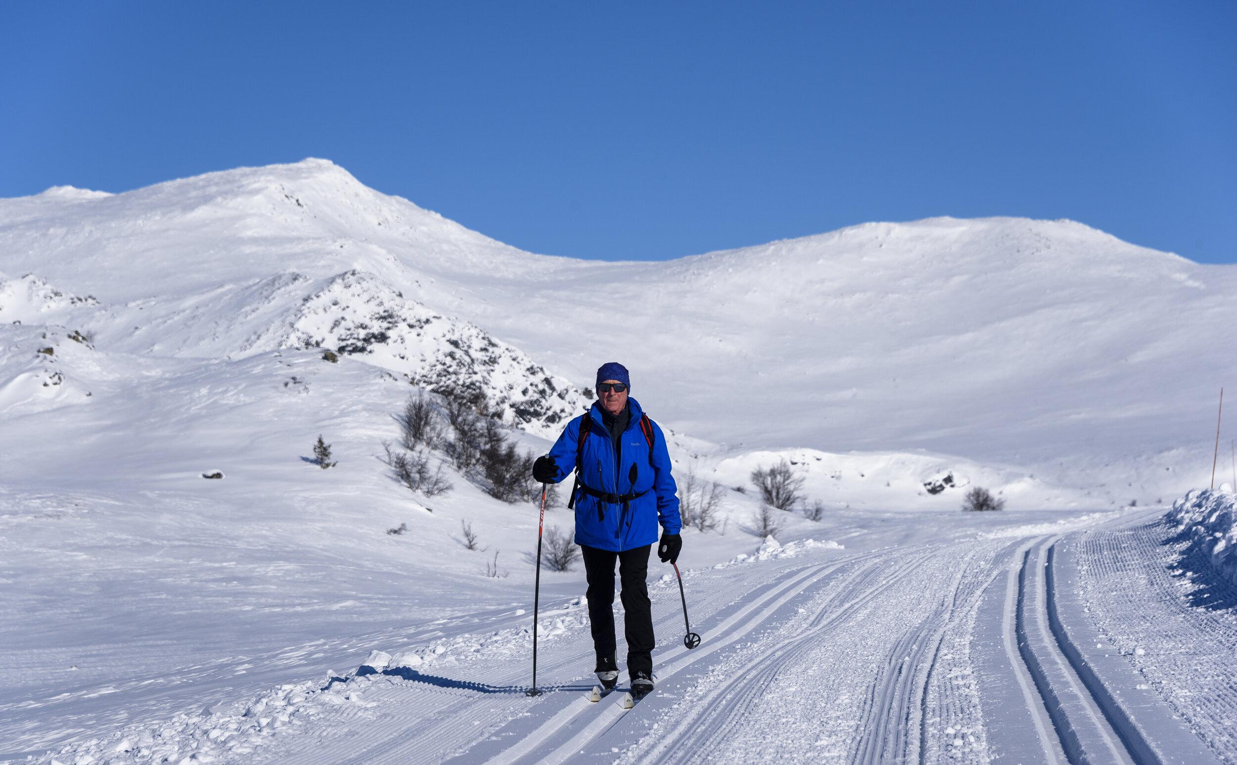 """SKITERRENGET      Espedalen er også kjent som """"Vår Vennlige Villmark"""" og vi har turterreng som passer alle kategorier skiløpere."""