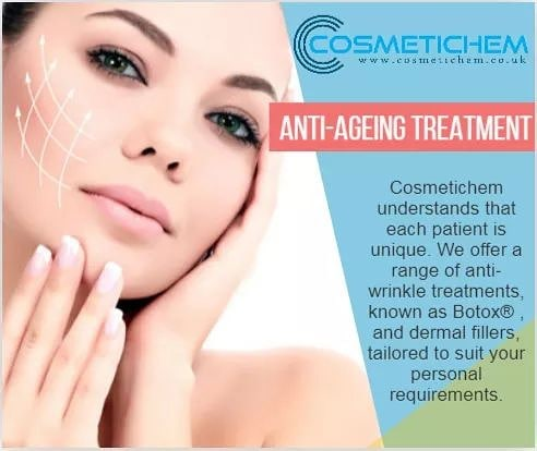 Cosmetichem understands that each patient is unique. We offer a range of anti-wrinkle treatments, known as Botox® , and dermal fillers, tailored to suit your personal requirements. Book your appointment today at www.cosmetichem.co.uk. . . . #skincare #botoxtreatment #skinbotox #radiantskin #youthful #skincare #softskin #skincaretips #healthyskin #antiaging #facialtreatment #beautifulskin #Cosmetichem #filler #beauty #restylane #juvederm #dysport #clinic #skincare #allergan #collagen #antiaging #fillers #vshape  #lipenhancement #cosmetics