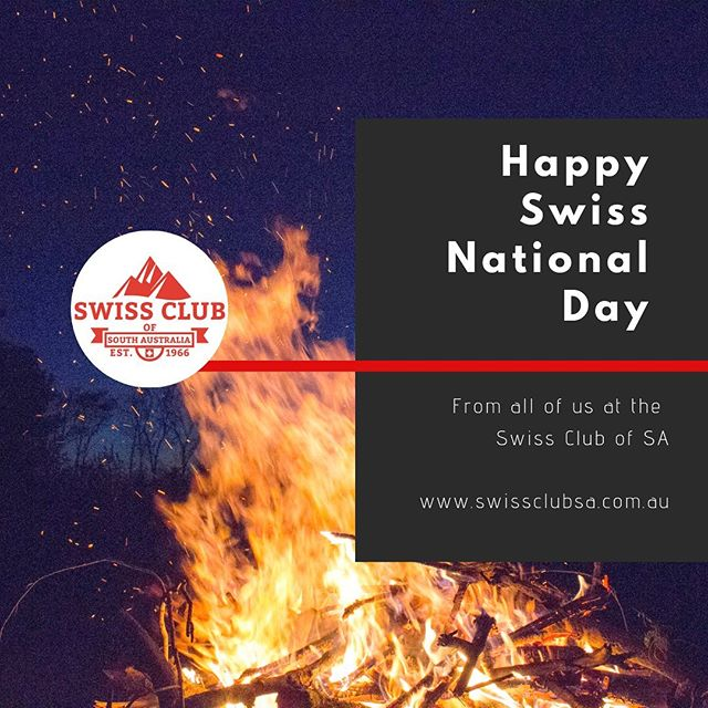 Our day is here, our National Day. May your mind be full of beautiful memories of holidays and homeland.  Whatever you're up to, take a moment to reflect on our history and if you want to really get into it, download the Swiss address from here: https://www.eda.admin.ch/countries/australia/en/home/representations/embassy-in-canberra/consulate-general.html  On this Link, you will also find the text of the Swiss President's speech (in various languages) as well as the lyrics of the Swiss National Anthem (Swiss Psalm; de, fr, it)  #swissclubsa