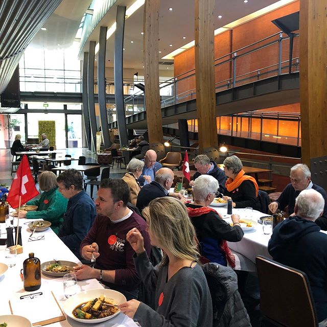 🇨🇭🇨🇭🇨🇭🇨🇭🇨🇭🇨🇭🇨🇭 What a beautiful celebration of our national Swiss Culture today @ The National Wine Centre in Adelaide.  Great to see our local Consule Patrick Wille and SwissCham and Council of Swiss Abroad chair Carmen Trochsler Show their support.  Outstanding food, an exciting venue and such lovely company. Tables were lively with all conversions and new connections. Thank you to everyone who came, we loved lunching with you.  See you Saturday in Aldgate at our Raclette bonfire evening.  #swissclubsa #swissabroad #nationalwinecentre #swissculture