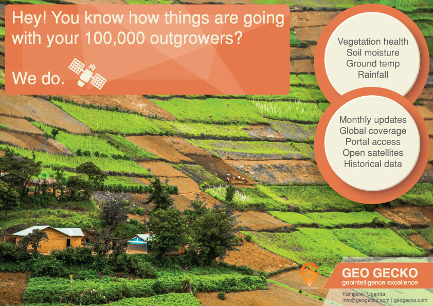 Satellite generated data for your smallholders
