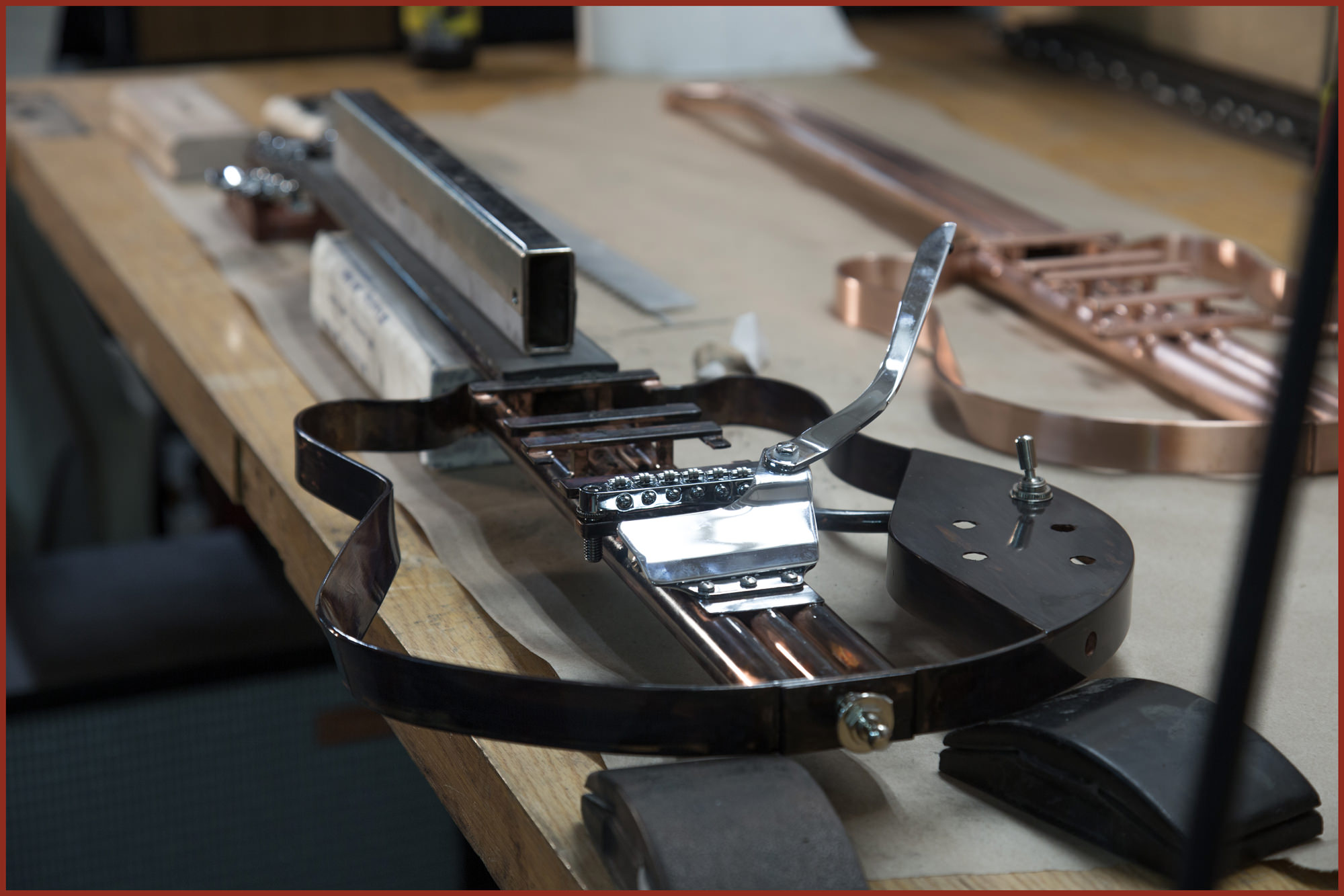 Endless Customization - Multiple hardware and finish options make every Tone.a.cane guitar completely unique.