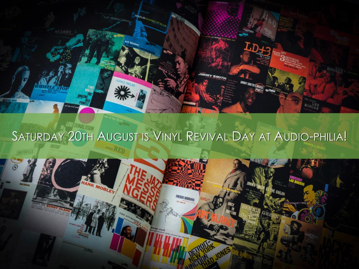 Audio-philia Turntable and Vinyl Event