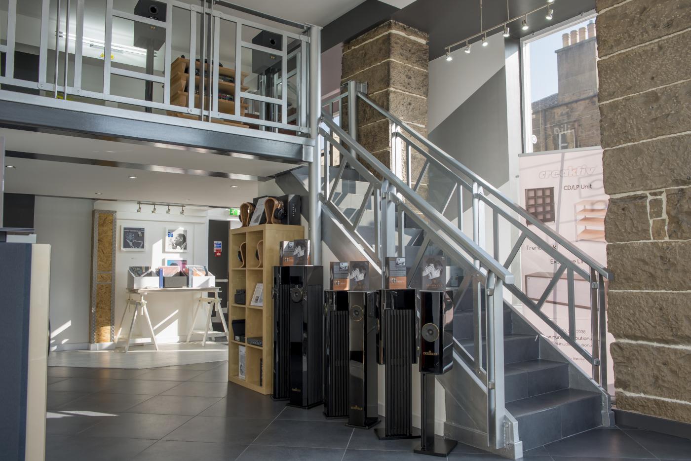 Audio-philia Edinburgh Inside