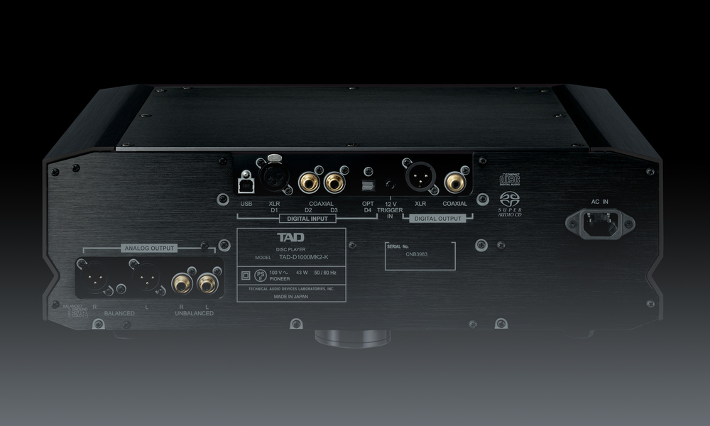 D1000MK2 Disc Player