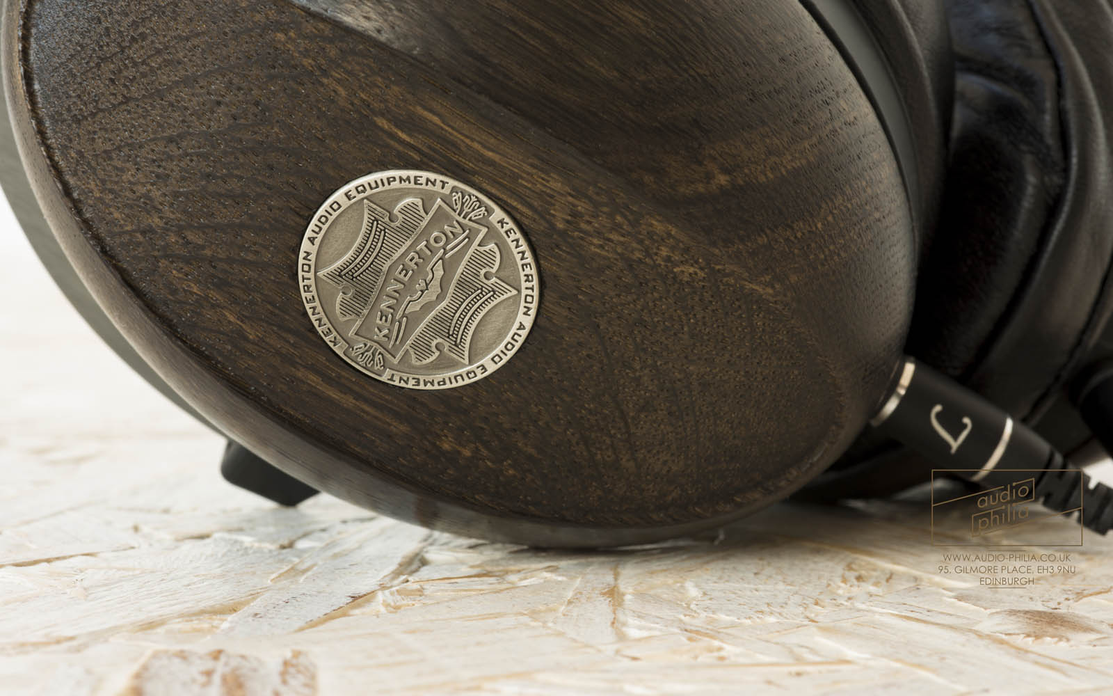 Kennerton Magister Headphones in Bog Oak Wood