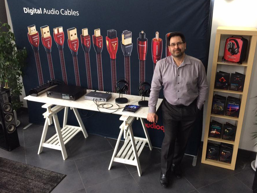 Carlo on AudioQuest Day
