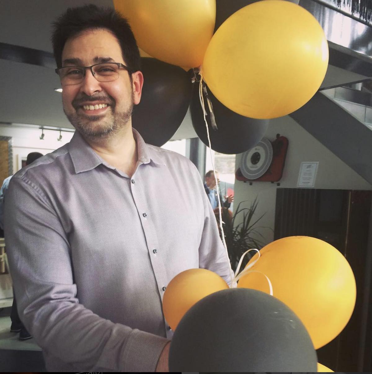 Audio-philia-hifi-shop-birthday-balloons
