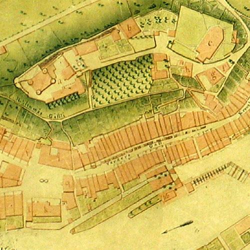 Thun um 1814, pr C. Fisch Géomêtre, Bern