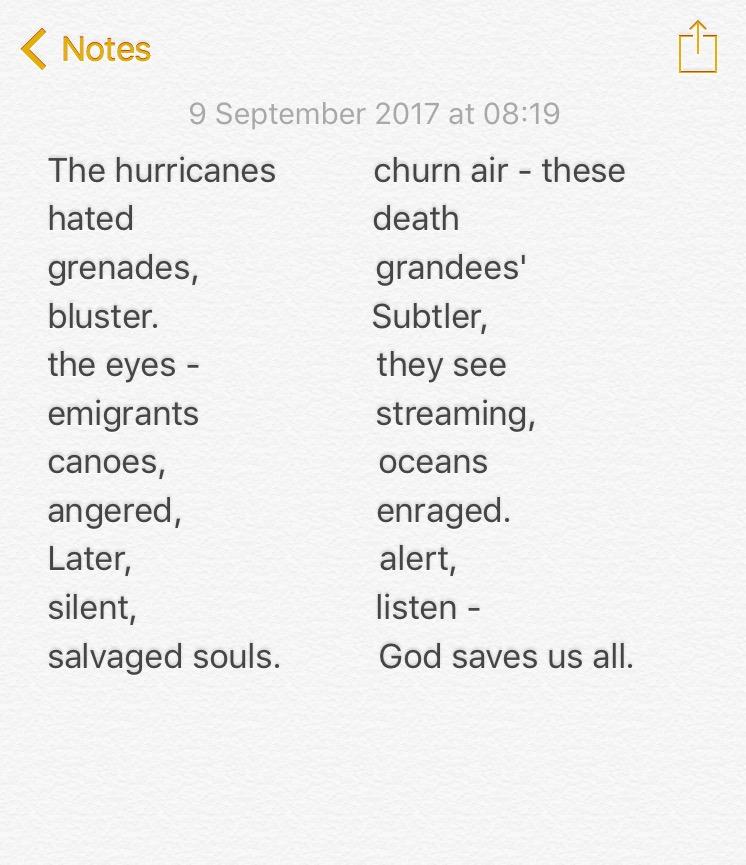 No.45 The hurricanes