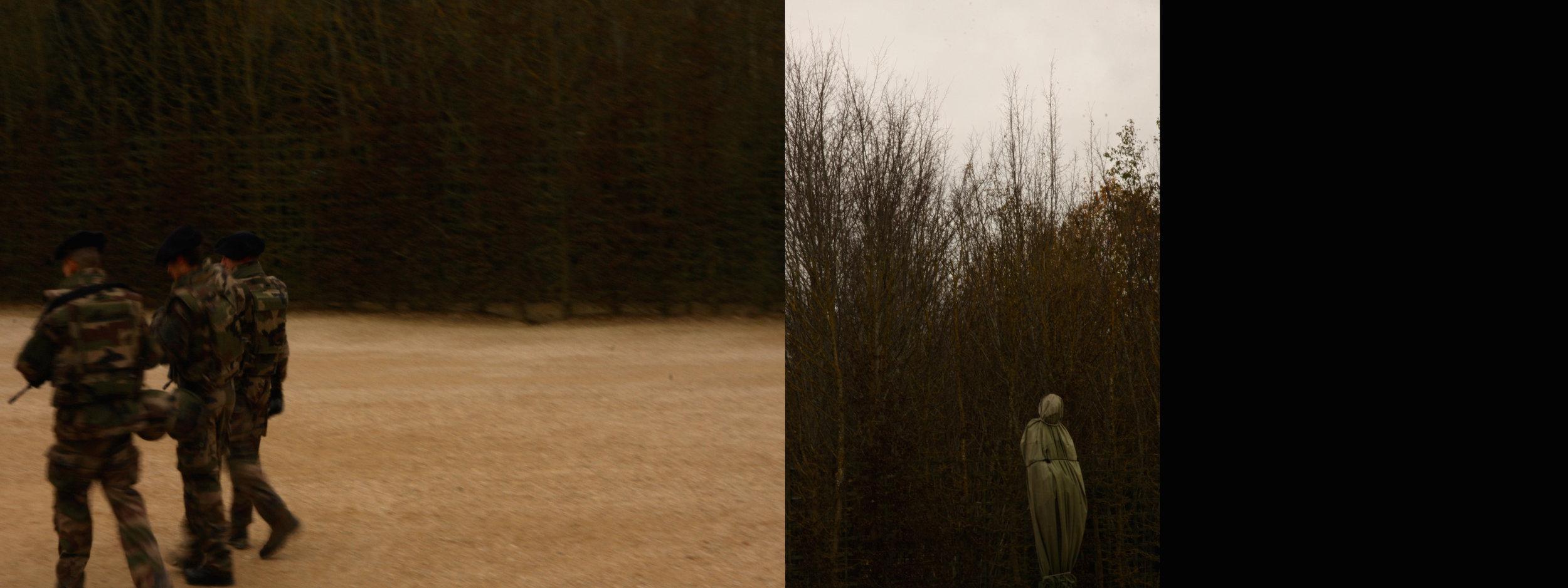 Intervention Versailles,2016, Jim Gurr