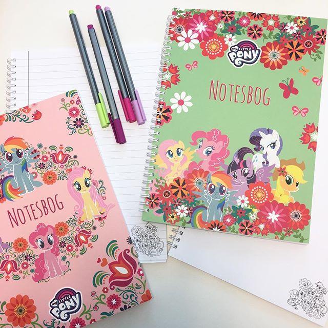 Nye My Little Pony Notesbøger 💖💙💚💛❤️ - i butikkerne uge 31
